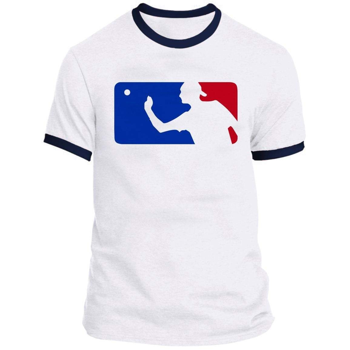Major League Beer Pong Ringer Tee