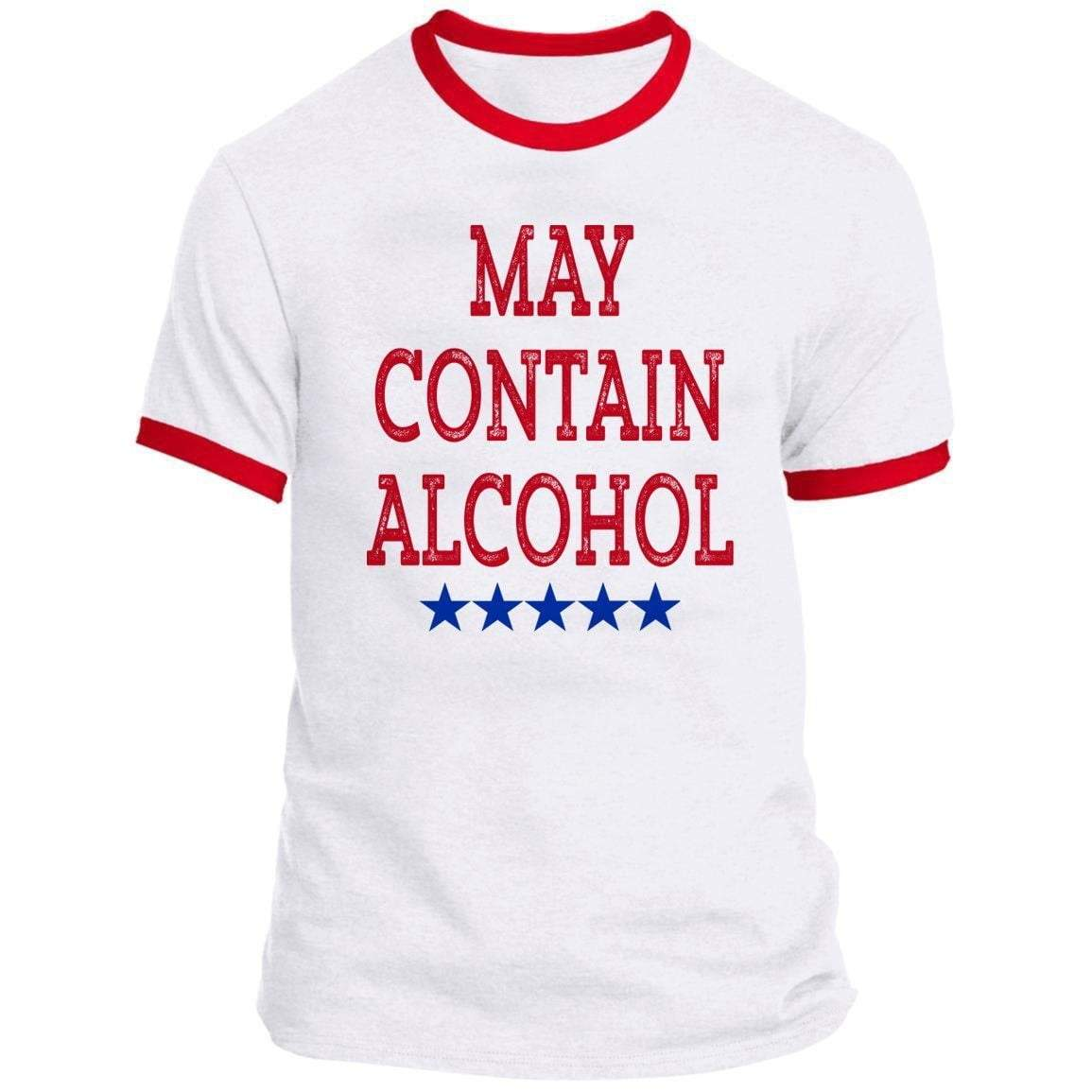 MAY CONTAIN ALCOHOL Ringer Tee