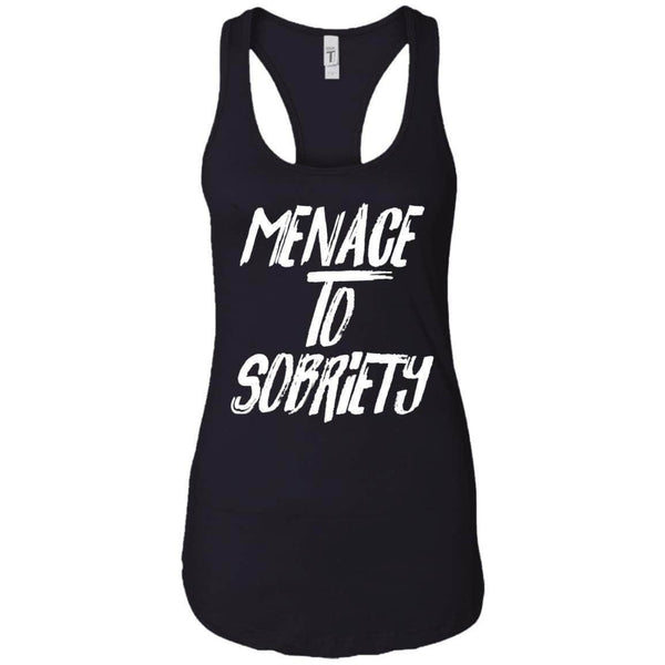 MENACE TO SOBRIETY WOMEN'S RACERBACK TANK