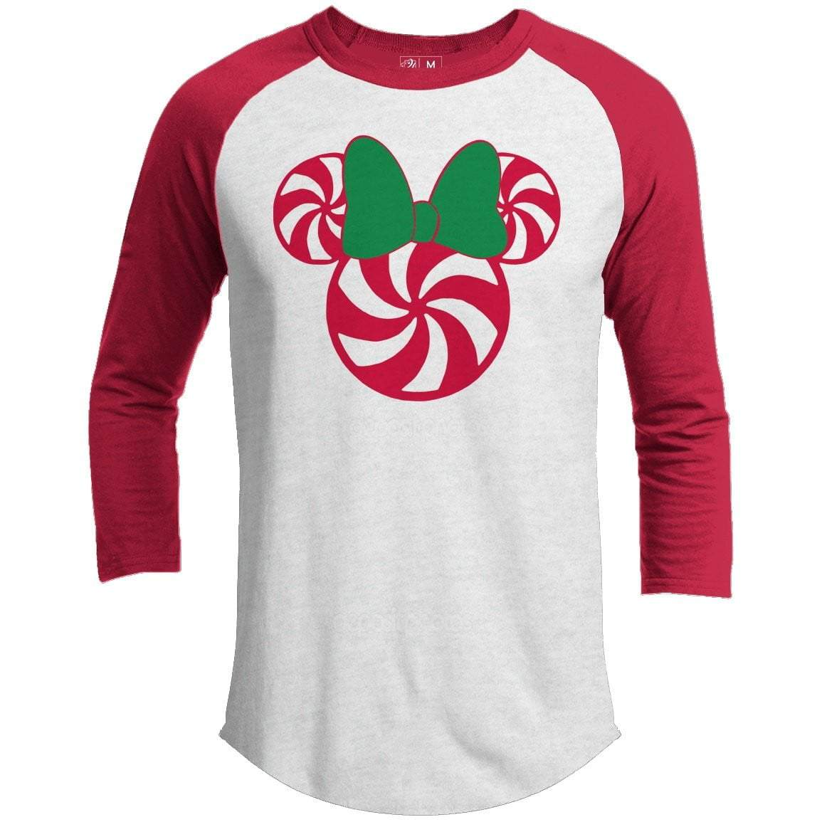 Mrs. Mouse Premium Christmas Raglan