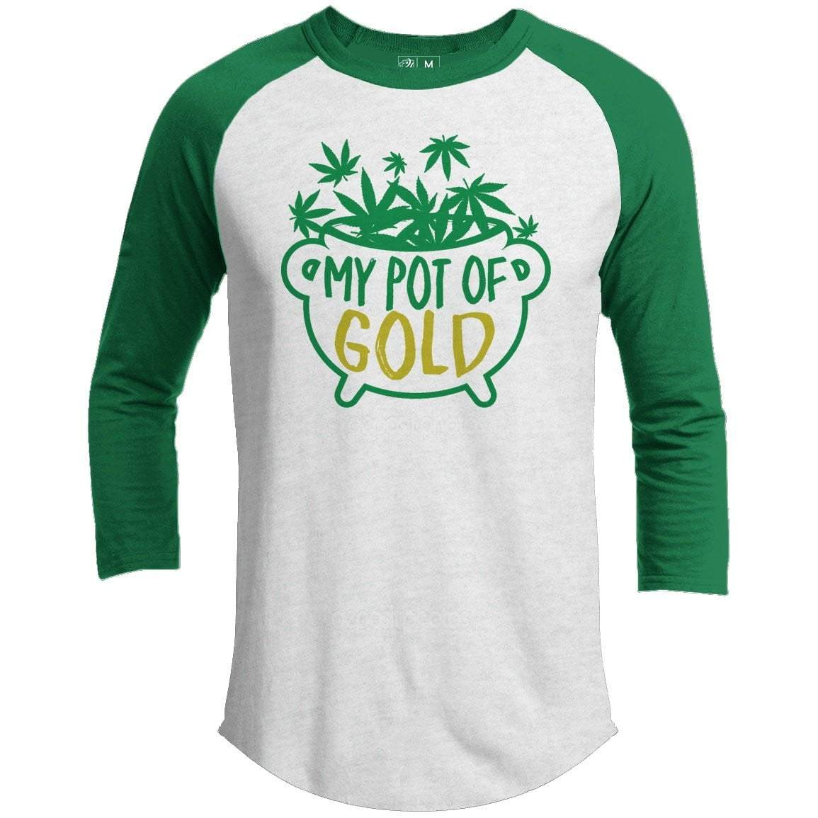 My Pot Of Gold St. Patrick's Day Raglan