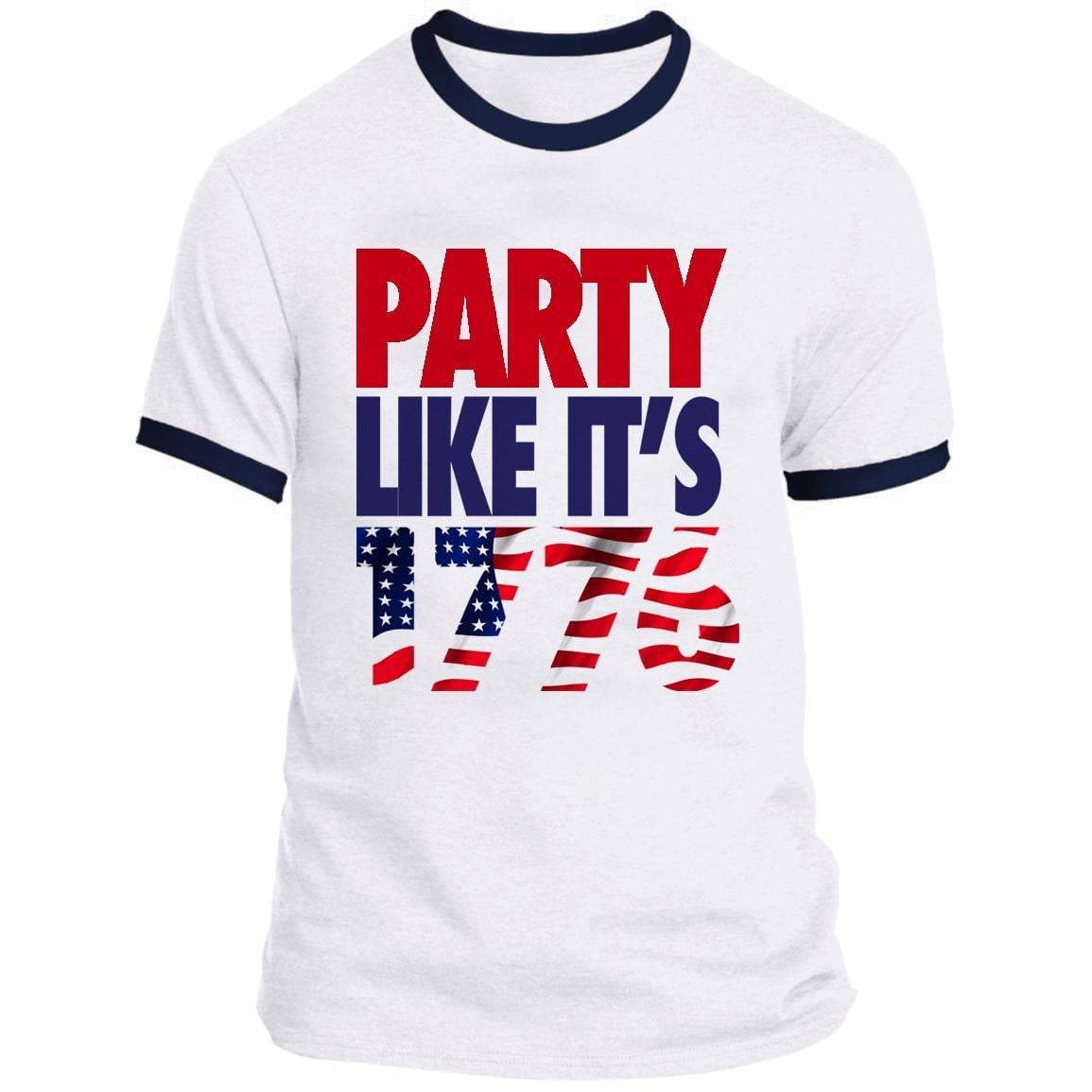 Party Like It's 1776 Ringer Tee
