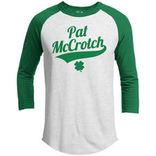 T-Shirts - Pat McCrotch St. Patrick's Day Raglan