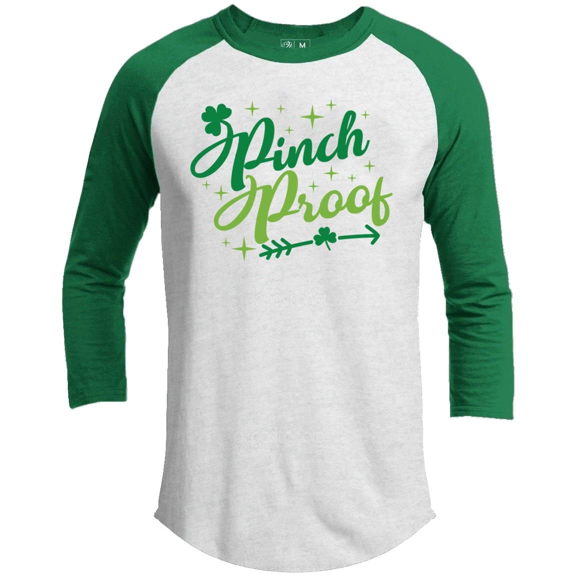 Pinch Proof Arrow St. Patrick's Day Raglan