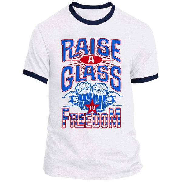 Raise A Glass Ringer Tee