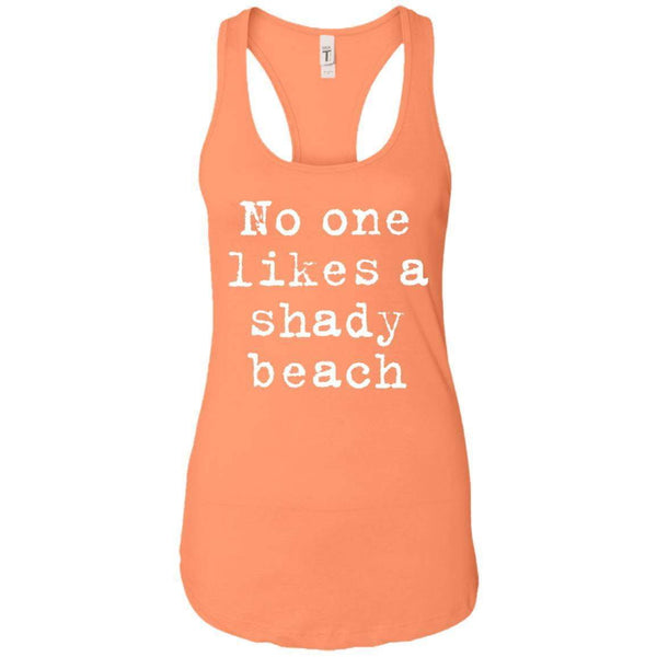 Shady Beach Women's Racerback Tank
