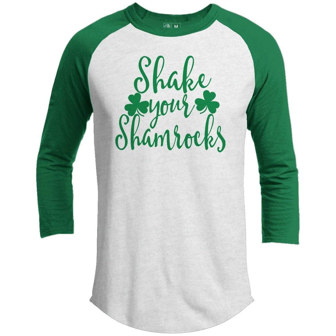 Shake Your Shamrocks St. Patrick's Day Raglan