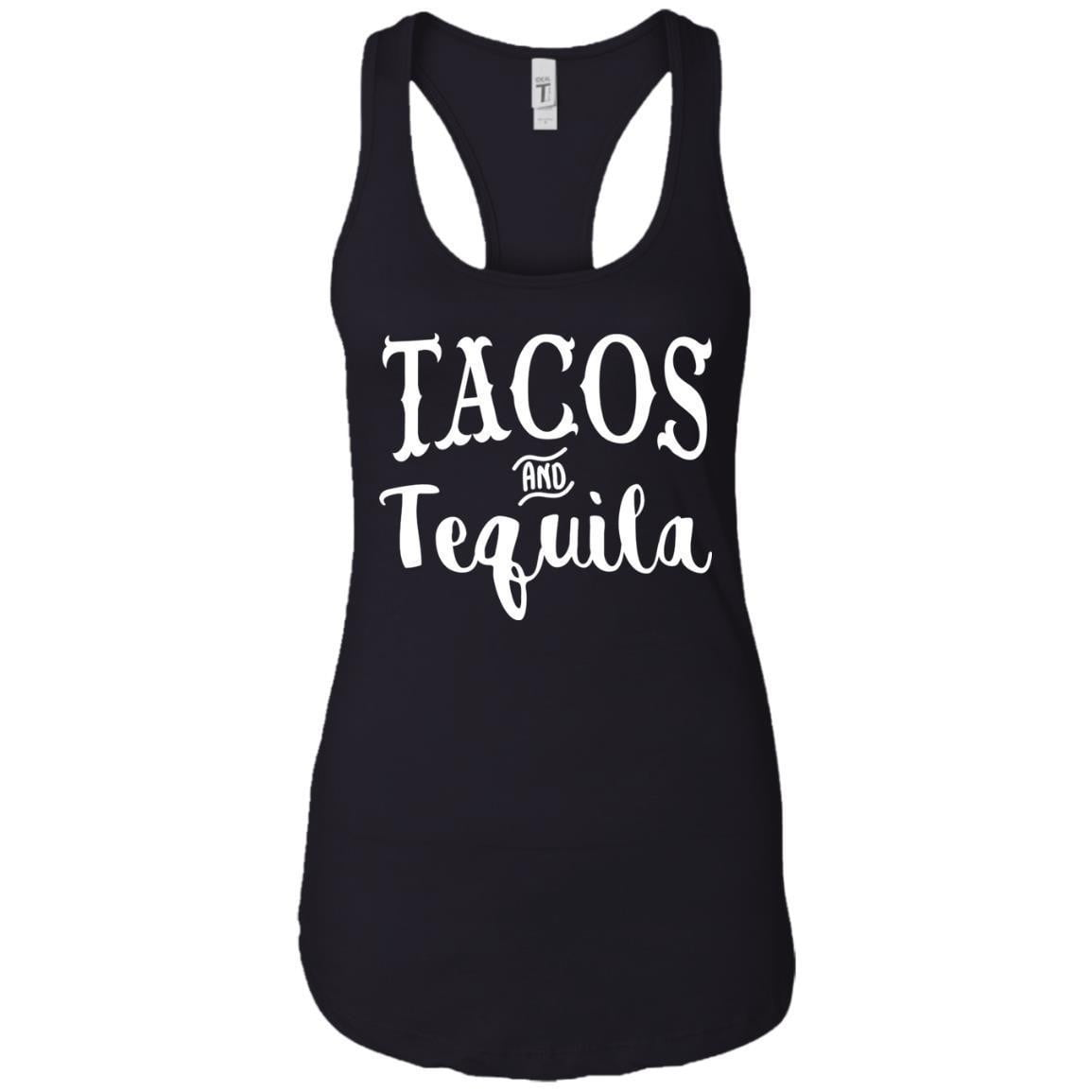 TACOS AND TEQUILA WOMEN'S RACERBACK TANK