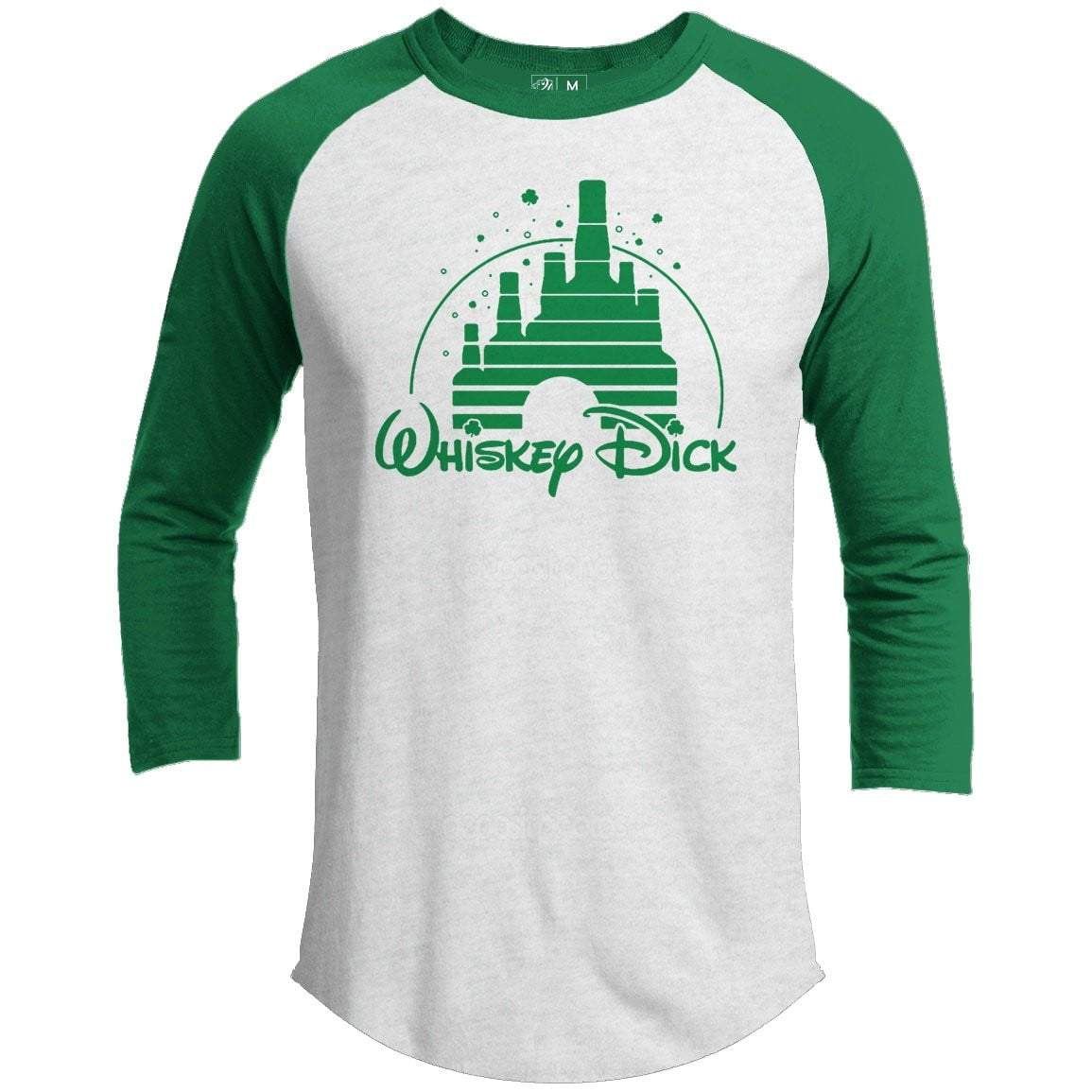 Whiskey Dick St. Patrick's Day Raglan