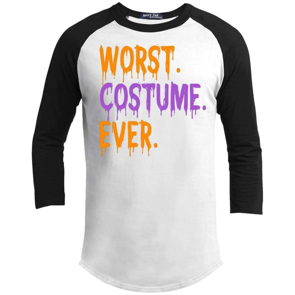 WORST COSTUME EVER Unisex 3/4 Sleeve Raglan