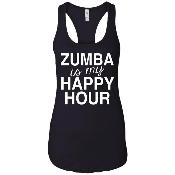 Zumba Happy Hour Women's Racerback Tank