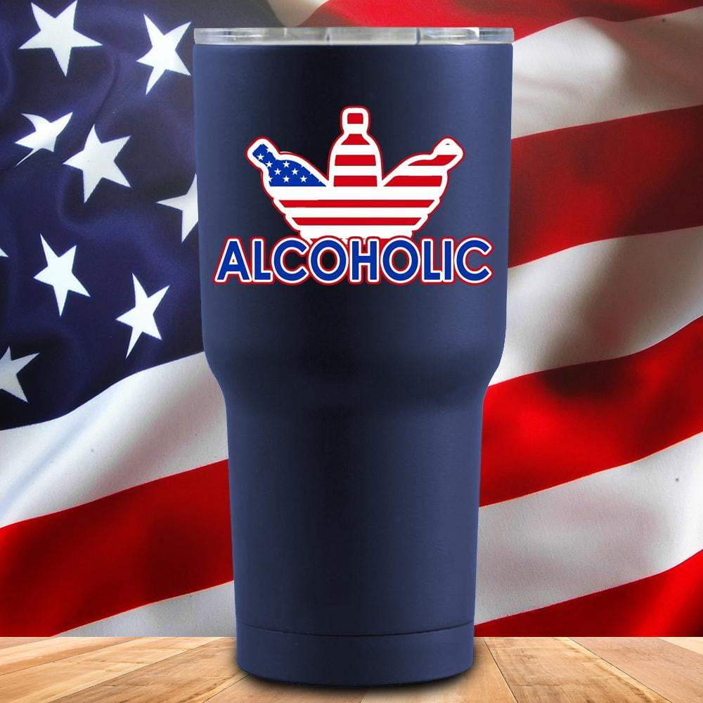 Alcoholic 3D UV Tumbler