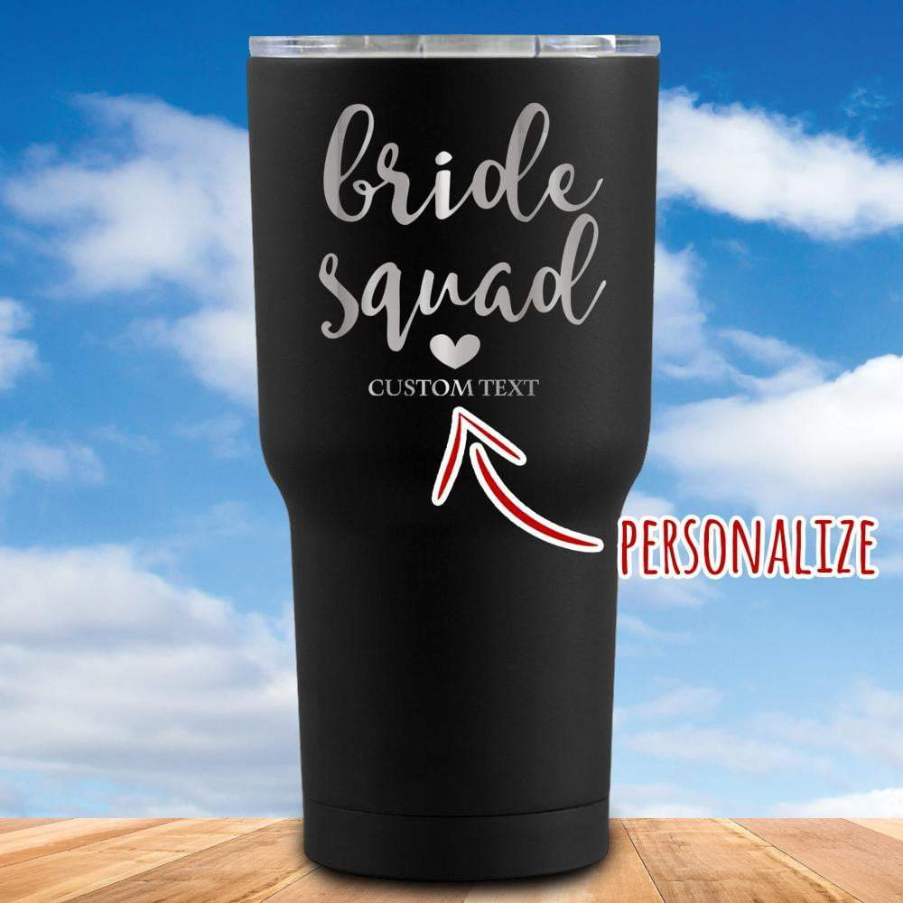 Bride Squad Personalized Tumbler