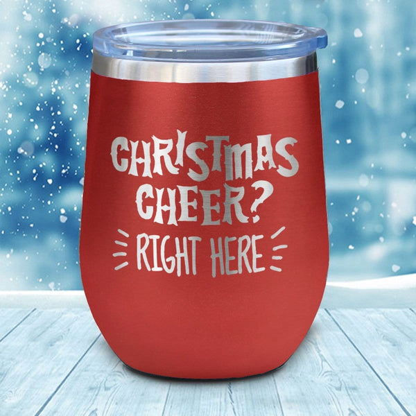 Christmas Cheer Christmas Wine Glass