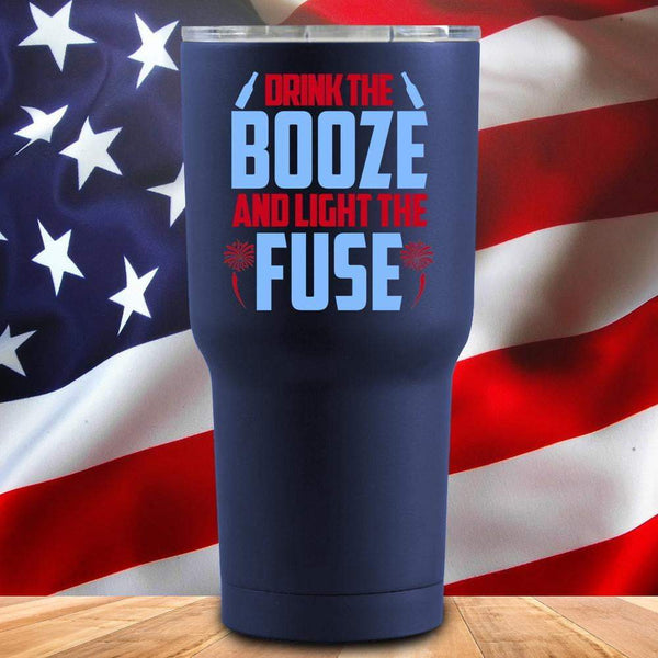 Drink The Booze 3D UV Tumbler