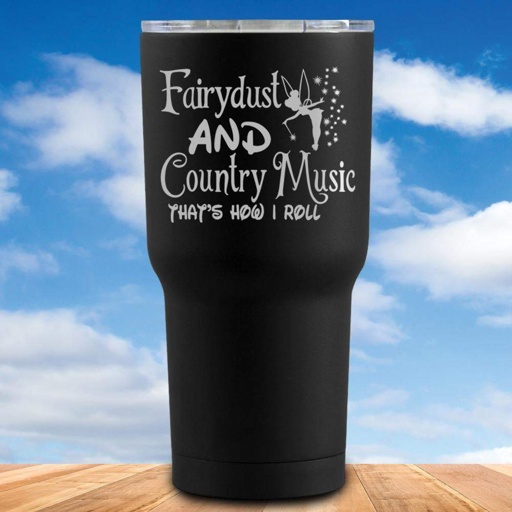 Fairydust And Country Music Tumbler