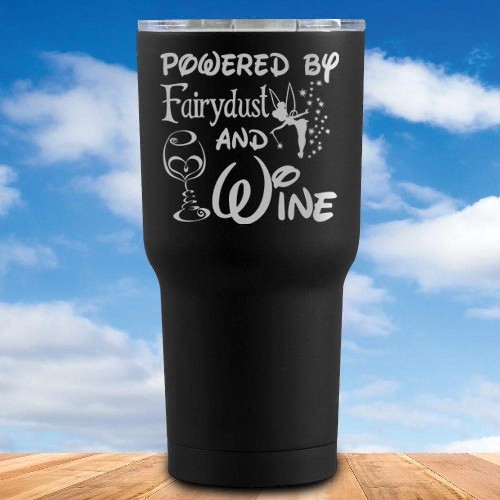 Fairydust And Wine Tumbler
