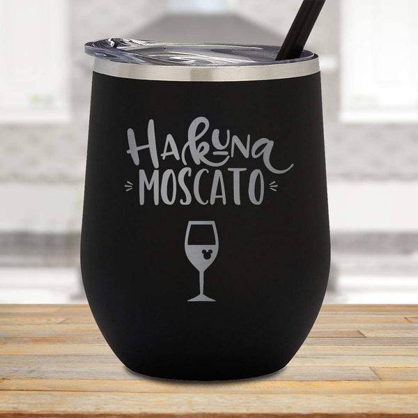 Hakuna Moscato Stemless Wine Cup