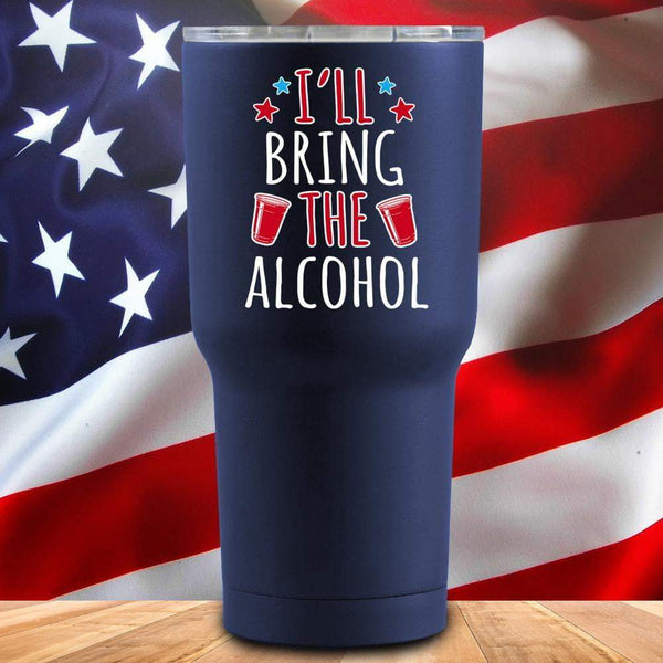 I'll Bring The Alcohol 3D UV Tumbler