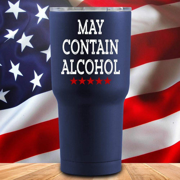 May Contain Alcohol 3D UV Tumbler