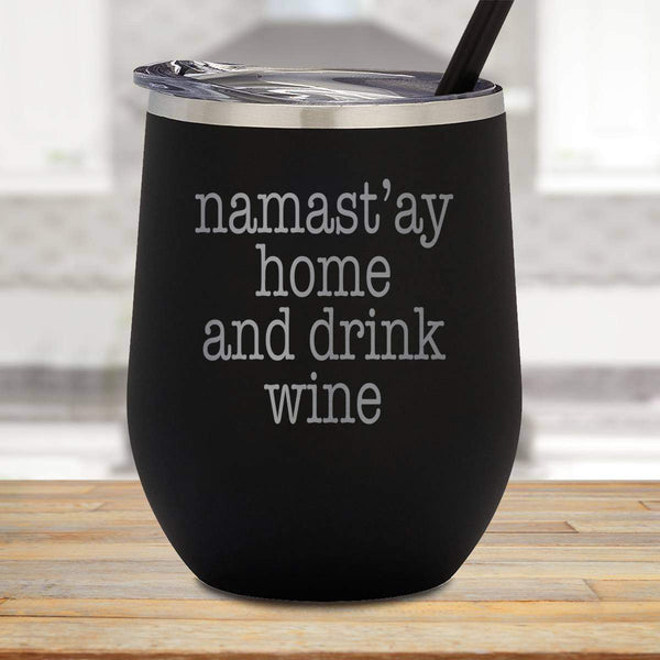 Namastay Wine Stemless Wine Cup