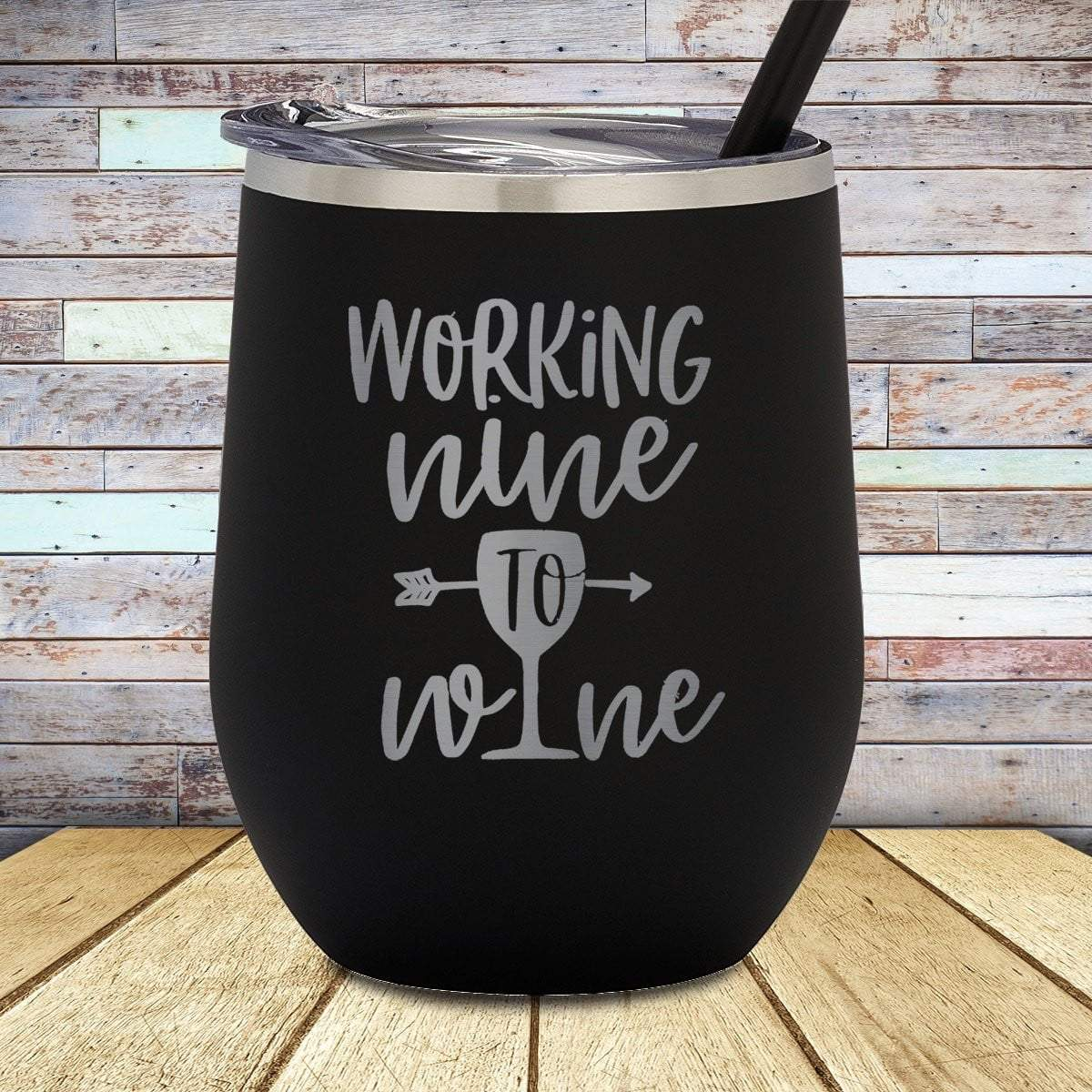 Nine To Wine Stemless Wine Cup