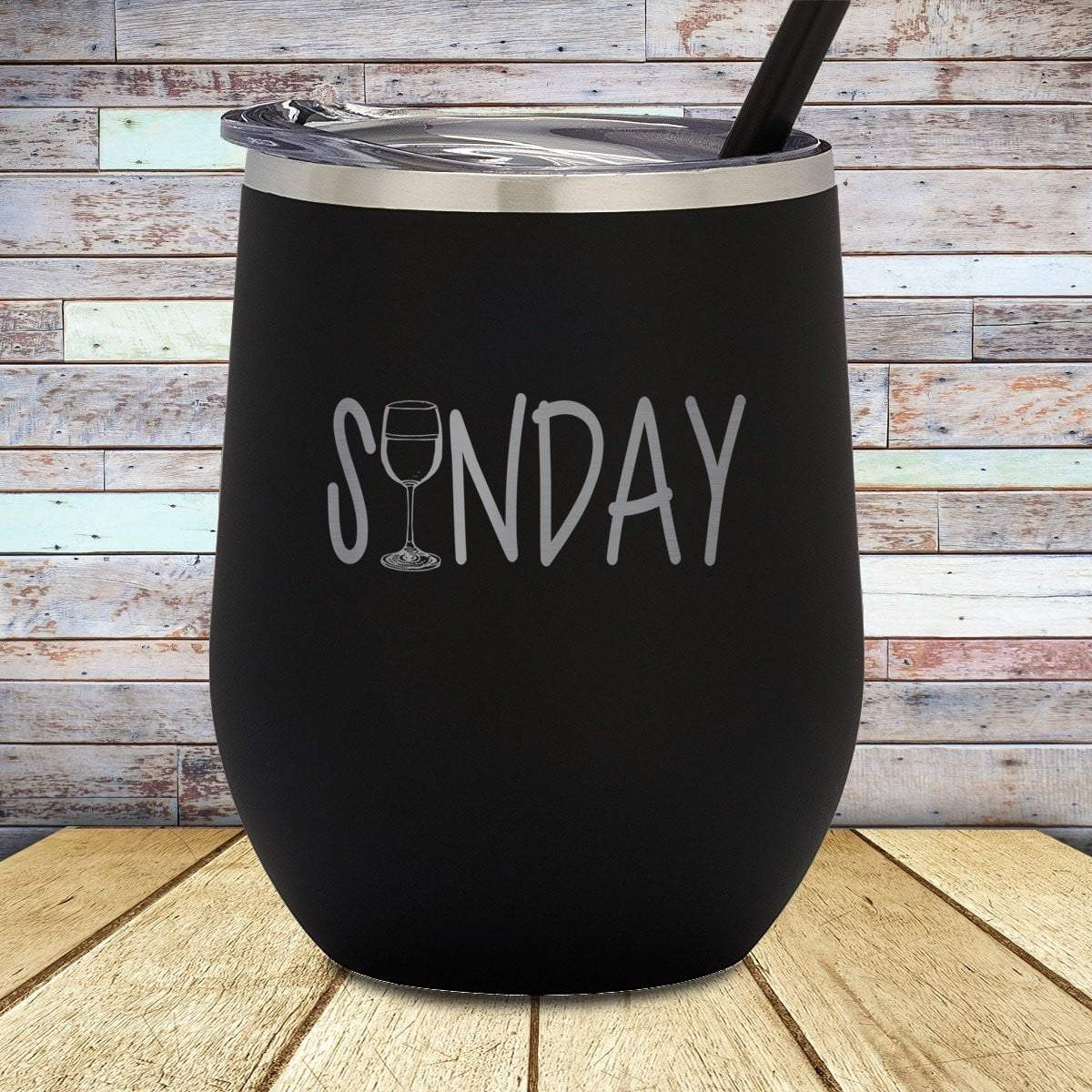 Sunday Wine Stemless Wine Cup
