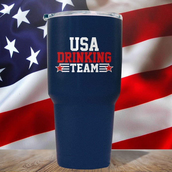 USA Drinking Team 3D UV Tumbler