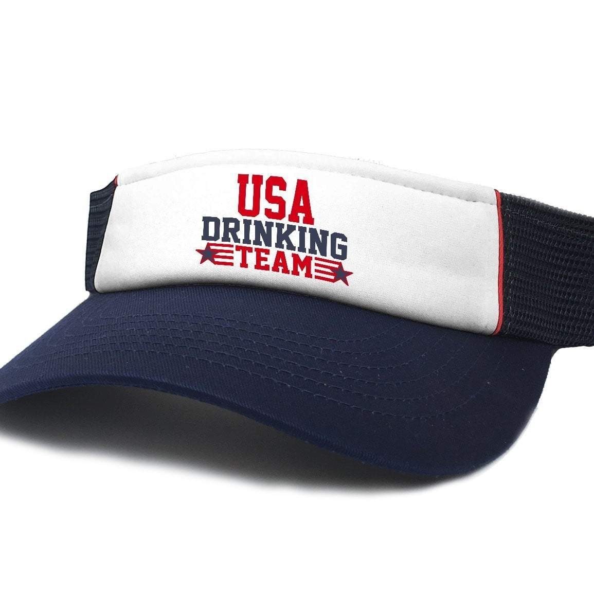 USA Drinking Team Patriotic Visor