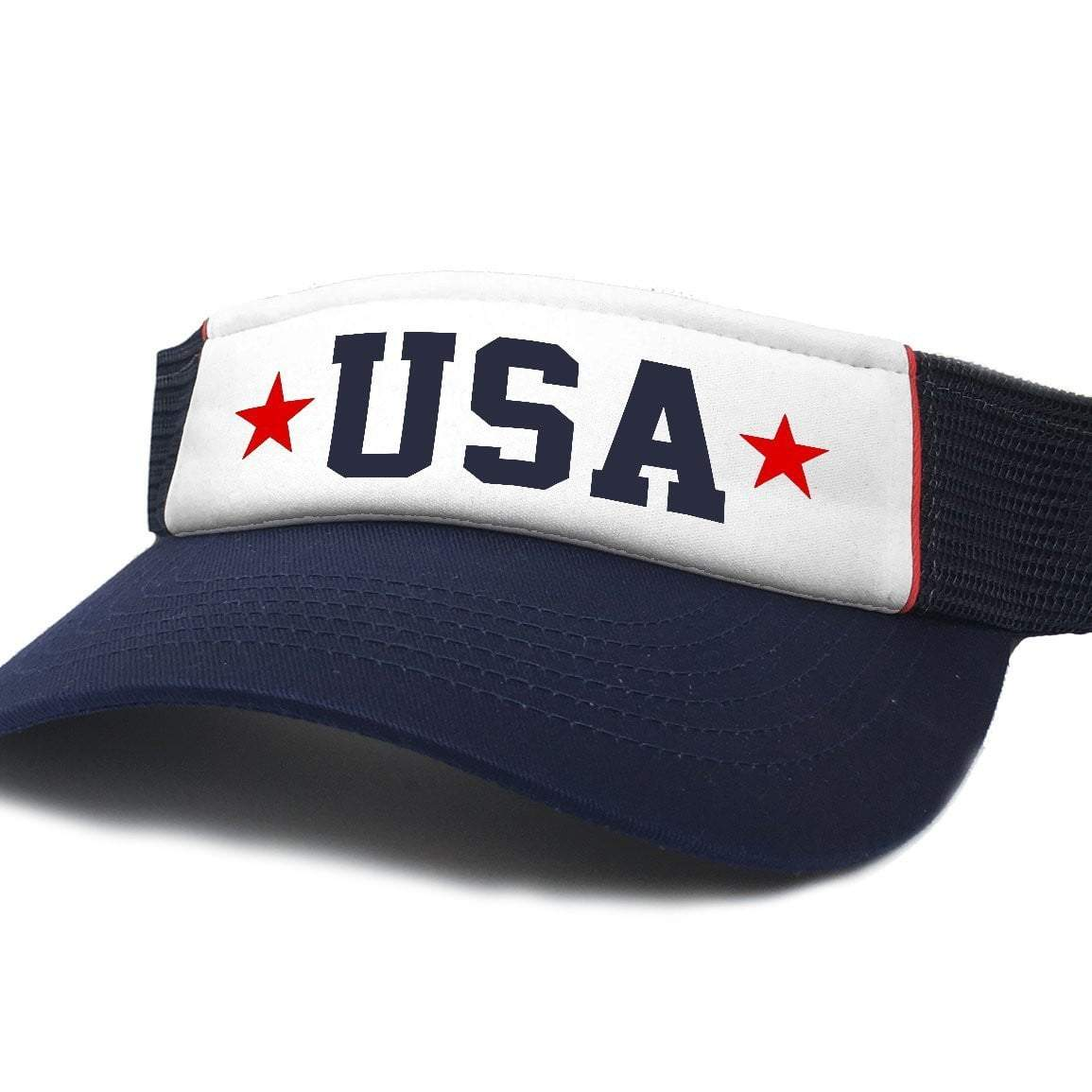 USA Patriotic Visor