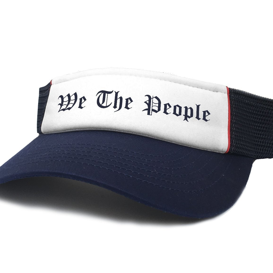 We The People Patriotic Visor