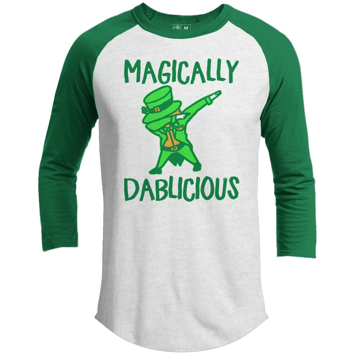 Magically Dablicious Premium Youth St. Patrick's Day Raglan