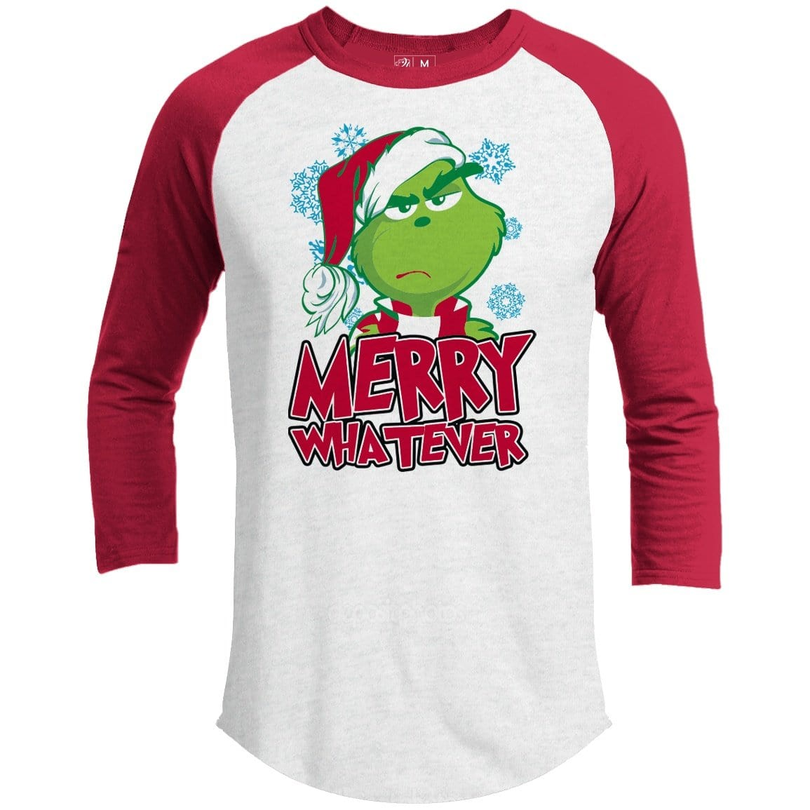 Merry Whatever Premium Youth Christmas Raglan
