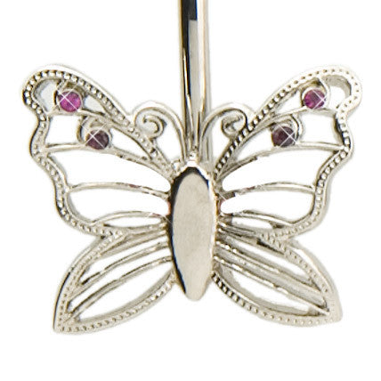 Silver Butterfly Key Finder