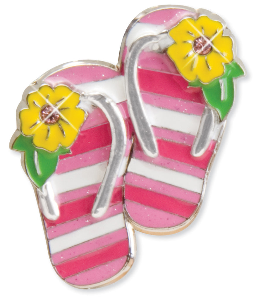Striped Flip Flops Key Finder