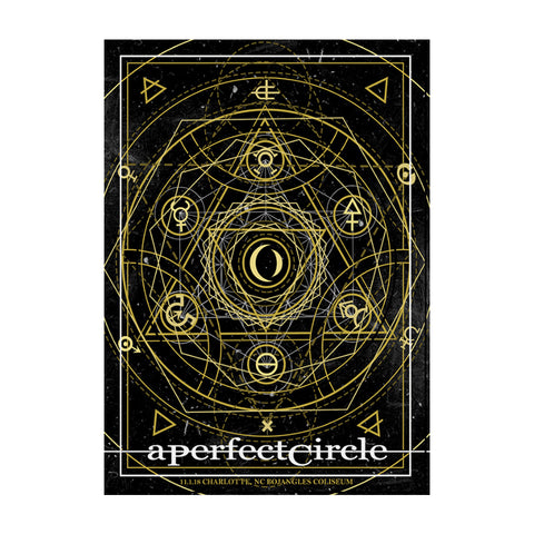 Signed Charlotte Alchemy Symmetry Poster