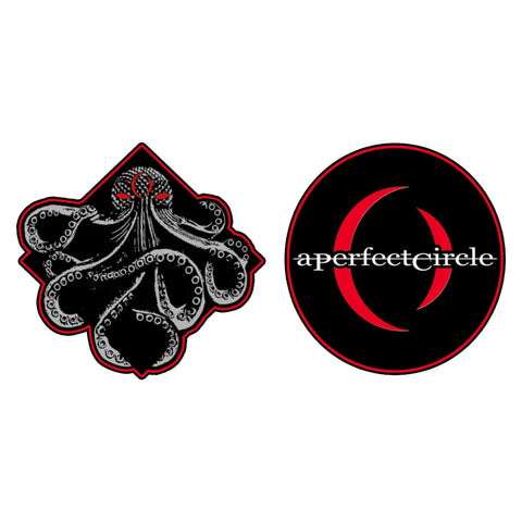 Octopus and Crescent Patch Set