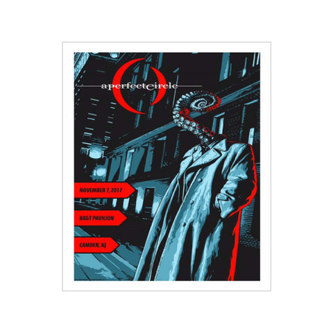Signed Tentacle Noir Camden Event Poster