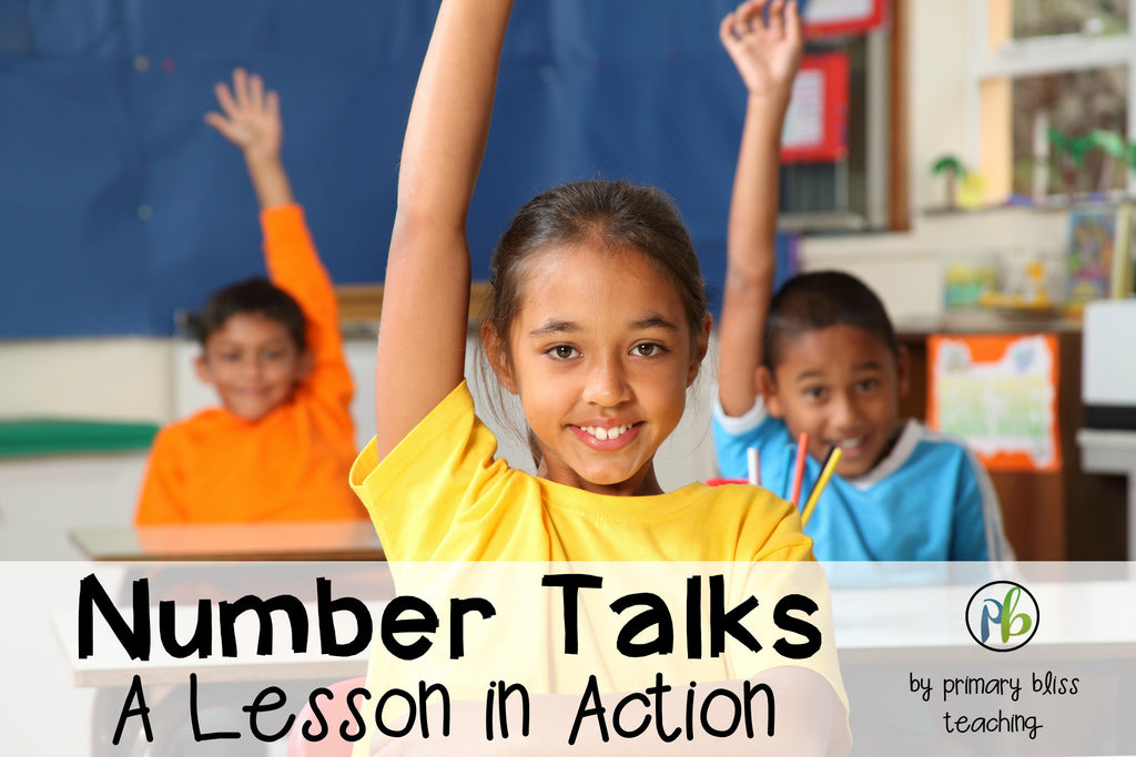 Number Talks – A Lesson in Action