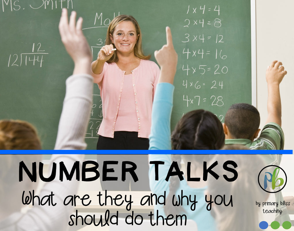 Number Talks – What Are They and Why You Should Do Them