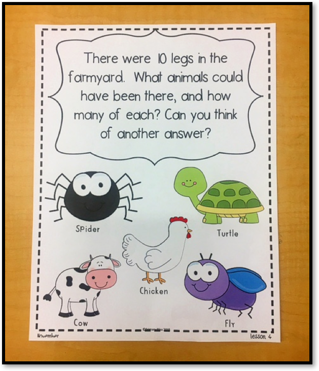 A Number Talks Lesson