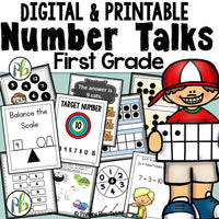 First Grade Number Talks