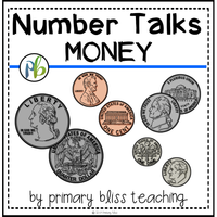Money number talks for first and second grade