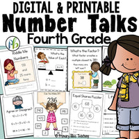 Fourth Grade Number Talks