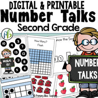 Second Grade Number Talks