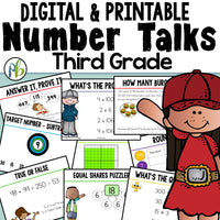 Third Grade Number Talks