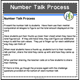 number talks process