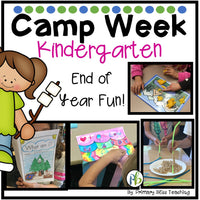 End of Year Camp Unit for Kinder - Critter Theme
