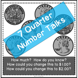 number talks using quarters