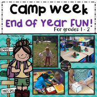 End Of Year Camp Unit (For First And Second Grade)